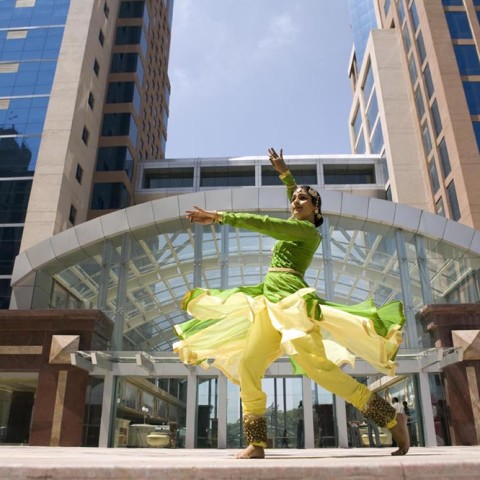 katak dnacer in UB tower for dance issue